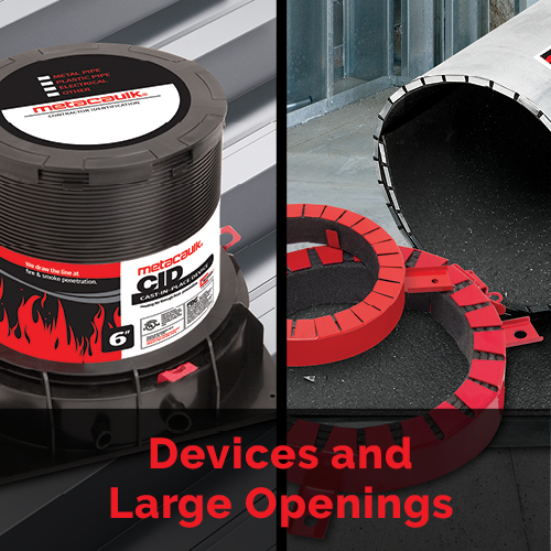Devices and Large Openings