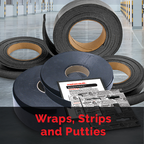 Wraps, Strips, and Putties